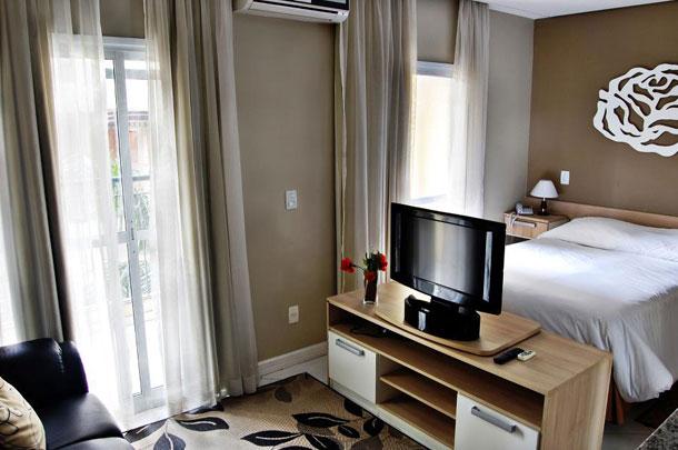 Quarto do Hotel Higienópolis