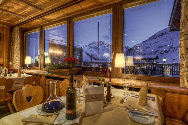 Restaurante no Hotel Arlberghoehe